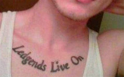 legends tattoo fail the worst tattoos people have instantly regretted life