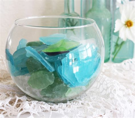 Sea Glass Home Decor by 65 Best Sea Glass Decorating Ideas Images On Pinterest