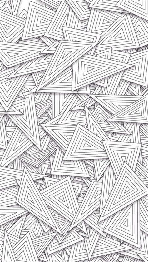 black and white line pattern wallpaper overlapping line triangles pattern iphone 5 wallpaper