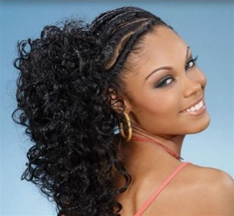 ponytail styles for natural hair ponytail hairstyles for black women hairstyle for womens