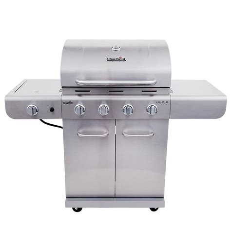 char broil grill light shop char broil advantage stainless 4 burner 30 000 btu