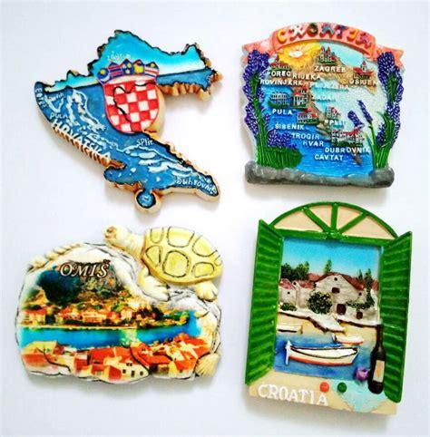 Souvenir Magnet Kulkas 1 sale painted window of croatia map 3d fridge