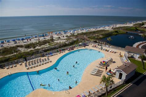 2 Bedroom Condos Myrtle Beach Oceanfront Gated Family Friendly Resort Rentals Myrtle