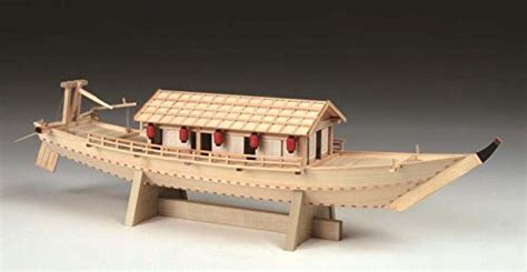 houseboat kit woody joe wooden model kit 1 24 japanese house boat brand