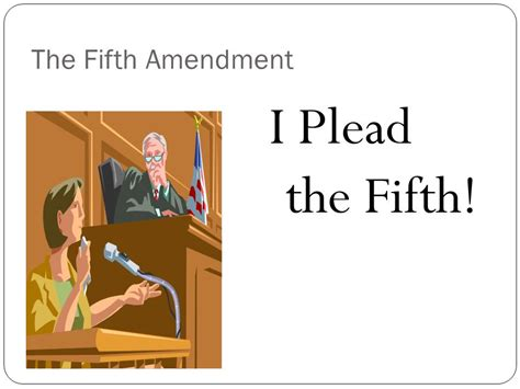 The Fifth Amendment Protects From Unreasonable Search And Seizure By The Government The Bill Of Rights Ppt