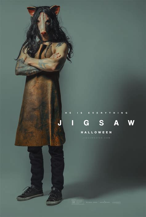 jigsaw girl film meet the disciples of jigsaw with these new posters