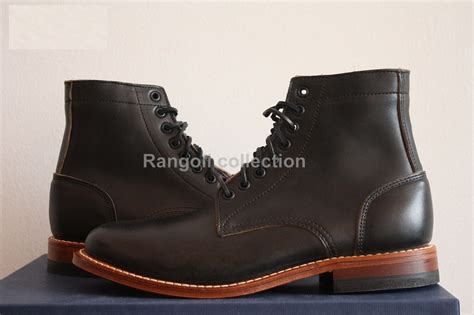 Handcrafted Leather Boots - handmade black ankle boots year welted sole