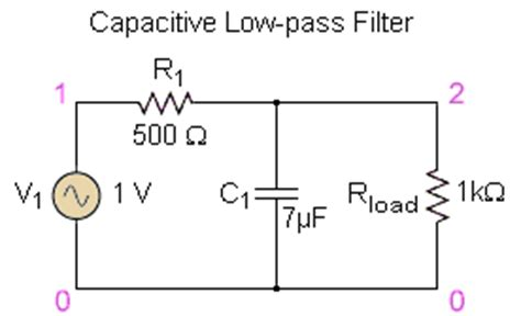 low pass filter capacitor voltage feee fundamentals of electrical engineering and electronics low pass filters