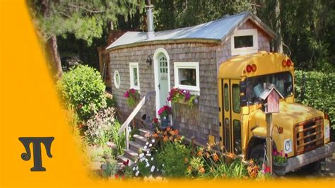 tiny house bus tiny house bus tour part 1 youtube