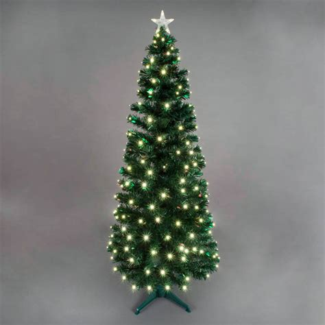 buy cheap 6ft fibre optic christmas tree compare house