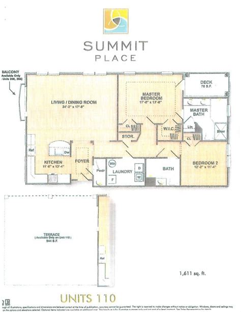 park summit floor plan summit place 2 bedroom luxury condominium carolann