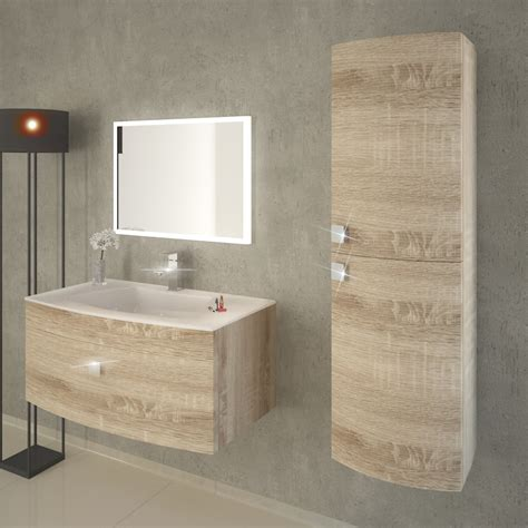 light oak bathroom furniture shades curved front bathroom storage unit snoma oak