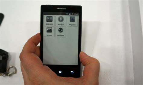 e ink android e ink android phone lasts a week weighs next to nothing