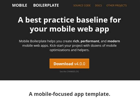 mobile boilerplate 55 great and useful tools for responsive web design