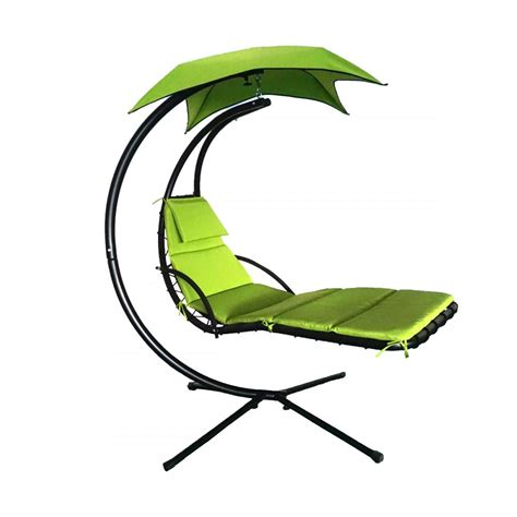 hammock swing chair with stand new hanging chaise lounger chair arc stand air porch swing