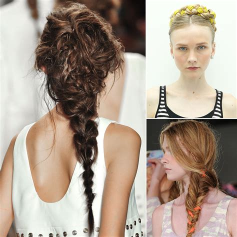 images of braid 2014 braid trend spring 2014 new york fashion week popsugar