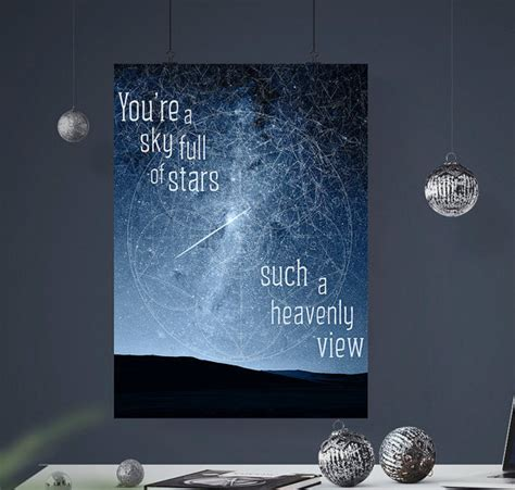 download coldplay songs in mp3 sky full of stars coldplay art poster coldplay lyrics song