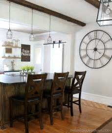 Farm Style Kitchen Table by Diy Farmhouse Kitchen Makeover All The Details