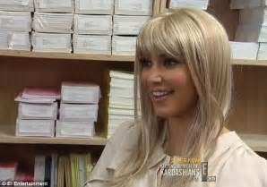 does kim richards wear extensions kim kardashian dons an array of wigs as she struggles to