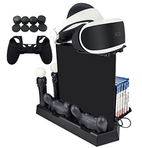 Ps4 Motion Vr With Stand Kaset Rabbids hikfly multifunction vertical stand cooling fan dualshock4