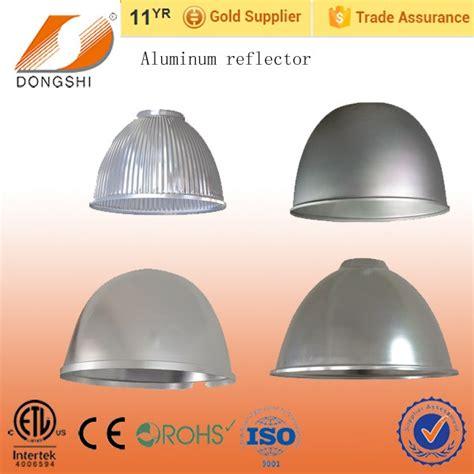 cl light with aluminum reflector round aluminum lighting reflectors 12 quot 16 quot of high bay