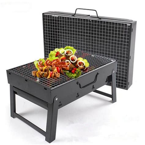 Magic Kitchen Grill by Outdoor 35 27 20cm Folding Portable Stainless Steel Hiking