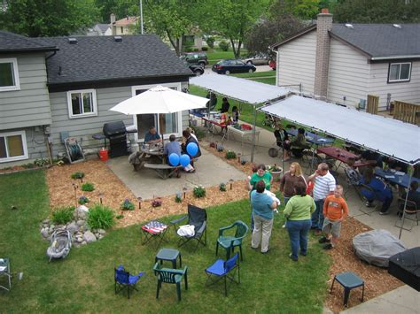 party in the backyard planning a great high school graduation party part 4 of