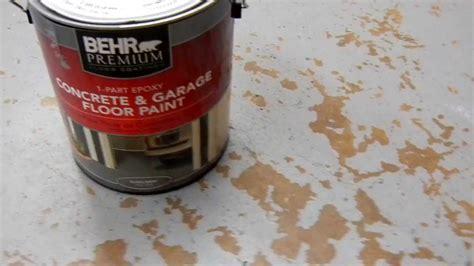 Behr Concrete And Garage Floor Paint by Behr Concrete And Garage Floor Paint Problems With 010 Mov