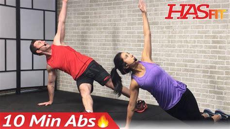 min abs workout  men women  minute ab workout  home ten abdominal exercises hiit