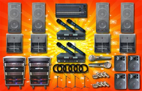 Paket 6 Set Par 18 X 10 Watt 1 sound system band yamaha auderpro watt besar platinum audio sound system jual sound system