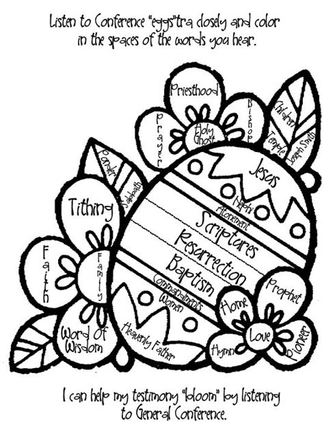 conference coloring pages lds lds conference activities and ideas a little tipsy