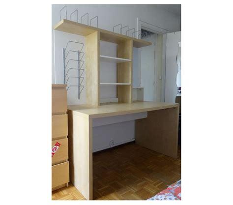 ikea bureau etagere bureau 140 cm blanc bouleau mickael ikea etagere posot class