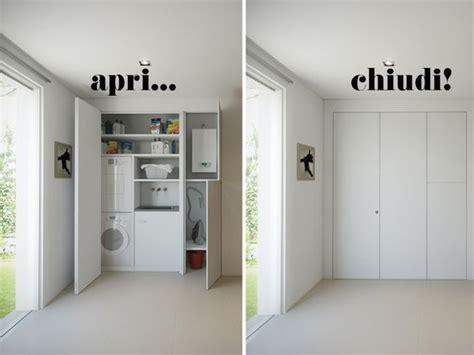 idee guardaroba l armadio a muro per nascondere lavanderia ripostiglio