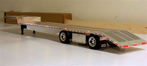 custom aluminum flatbed trailers for tamiya trucks