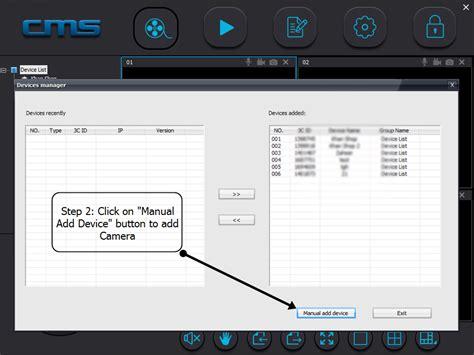 software per ip wifi wireless cctv ip yoosee cms viewer settings