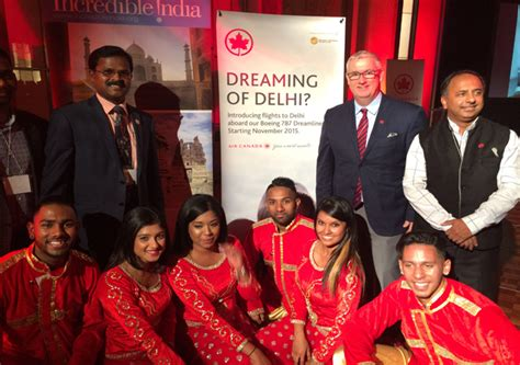 air canada says its toronto delhi non stop flight is the best deal for passengers