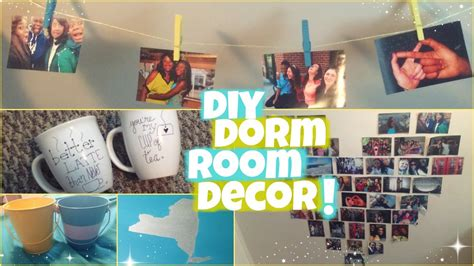 how to make room decorations diy dorm room decor youtube
