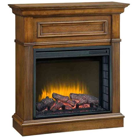 comfort flame fireplace comfort glow ef5568rkd the briarton fireplace w quartz