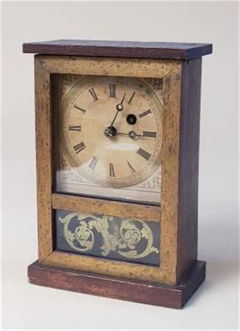 Cottage Clocks by Miniature Antique Cottage Mantel Clock 6509822362
