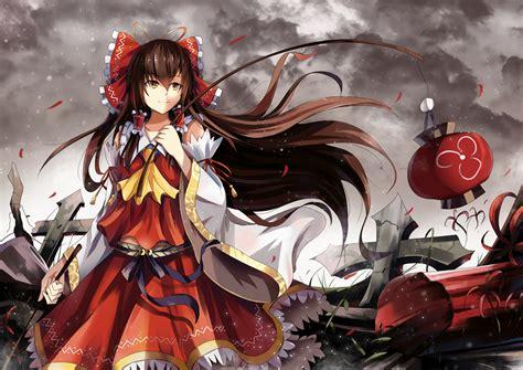 anime wallpaper collection zip reimu hakurei full hd wallpaper and background image