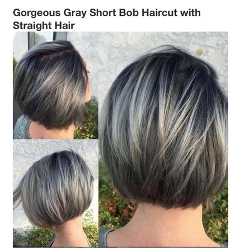 chin length grey hairstyles image result for chin length gray hair hair ideas
