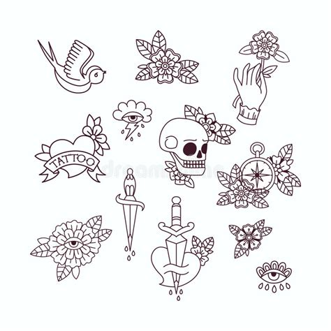 old school tattoo flash school flash designs 187 4k pictures 4k