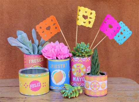 Mexican Paper Crafts - 5 de mayo printables craft activity templates and