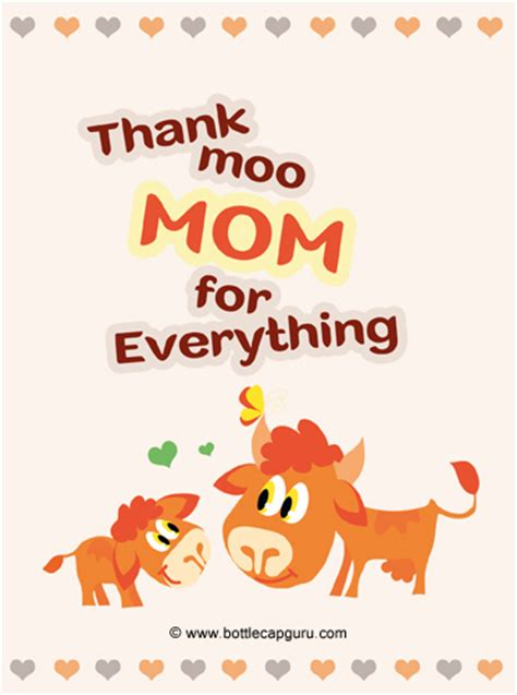 printable thank you for everything cards thank moo mom for everything free thank you ecards