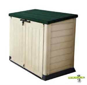 Plastic Bike Sheds For Sale by Keter Xl Plastic Storage Box Garden Shed Bike Tools