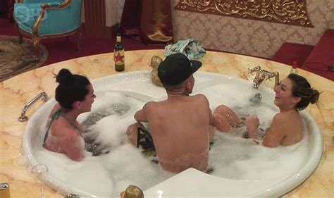 lesbians having in the bathroom celebrity big brother housemate luisa zissman suggests