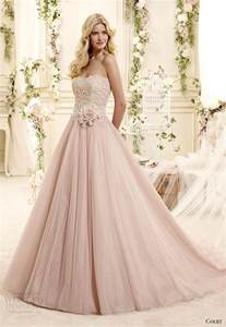 blush colored wedding dress blush colored wedding dresses