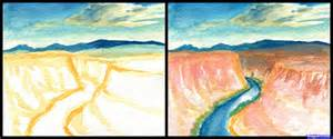 how to draw the grand canyon grand canyon step by step