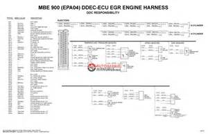detroit diesel mbe platform electronic wiring schematics auto repair manual forum heavy
