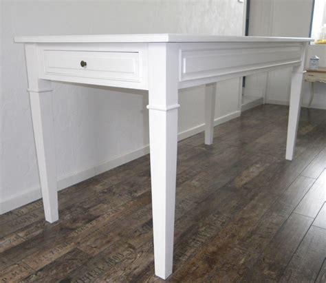 table cuisine blanche table de cuisine salle 224 manger peinte blanche anjoudeco